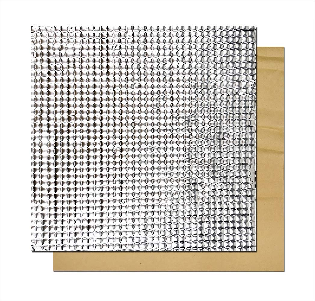 300*300*10mm Heated Bed Foil Self-adhesive Heat Insulation Cotton For 3D Printer
