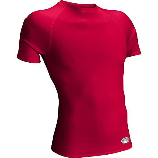 Russell Athletic Women s Short Sleeve Compression T-Shirt at Amazon Women s  Clothing store  a1af693982a6