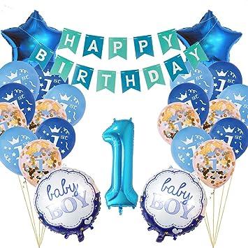Cumpleaños 1 Año Bebe Niño y Niña, 1er Cumpleaños Bebe ...