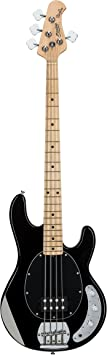 Sterling by Music Man StingRay Ray4 Bass Guitar in Black