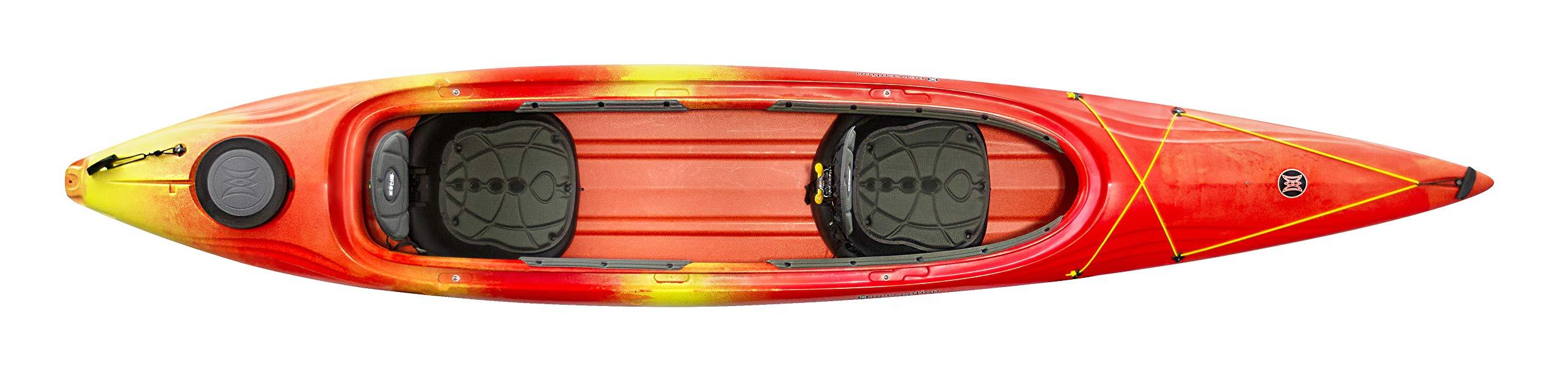Perception Cove 14.5 Kayak, Red/Yellow by Perception Kayaks