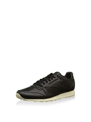 Leather Homme Baskets Basses Reebok Horween Classic Lux Noir eHIYW9ED2