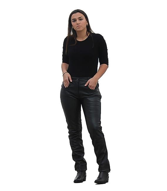 Zerimar Pantalones Mujer | Pantalones Piel Mujer | Pantalones Largos Mujer | Pantalones Piel de Mujer | Pantalones Cuero de Mujer | Pantalones Mujer Largos: ...