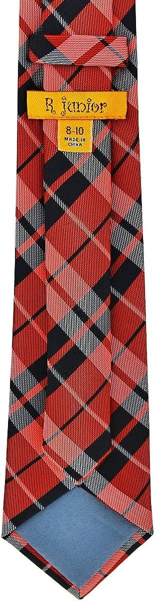 Various Colors 8-10 years Retreez Preppy Plaid Check Woven Boys Tie