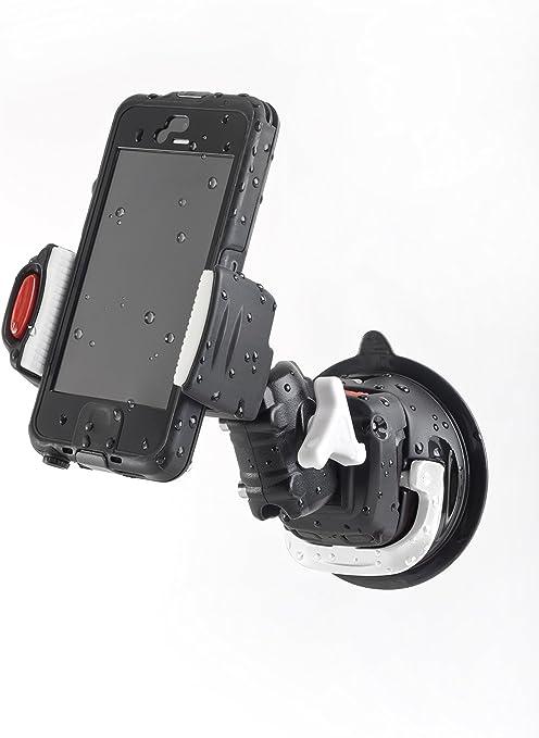 Scanstrut Rokk Mini Handyhalterung Mit Saugfuß Sport Freizeit