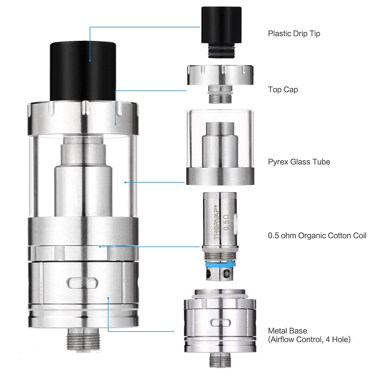 Cigarrillo Electrónico, THORVAP MYBOX TC 40W Kit Mods Cigarrillo ...