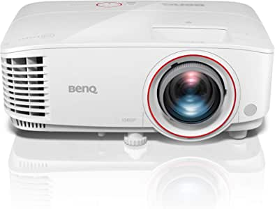 "BenQ Gaming Projector (TH671ST), Native 1080p, Full HD, DLP High Brightness (3000 Lumens), Ambient Light Sensor, Superior Short Throw 100""@1.5m, 5W Stereo Speaker, Wireless, 3D, HDMI, MHL, Easy Setup"