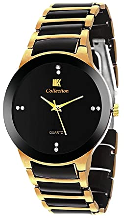 ff179664a8c IIk Collection Watches Analogue Black Dial Men s and Boys Watch - Iik013M
