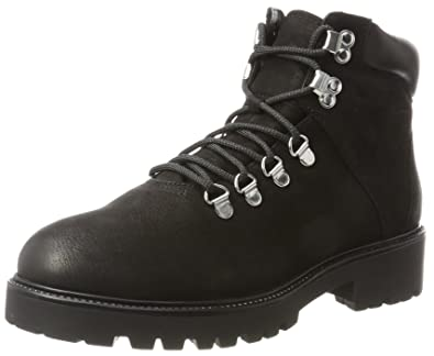 Womens Vagabond Kenova Combat Military Lace Up Army Ankle Suede Boots