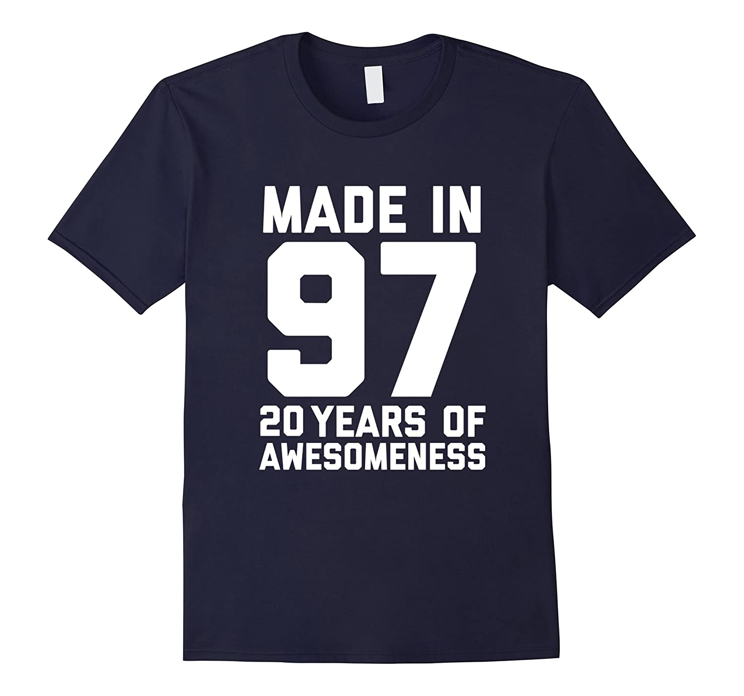 20th Birthday Shirt Gift Age 20 Year Old Mens Womens Tshirt-T-Shirt