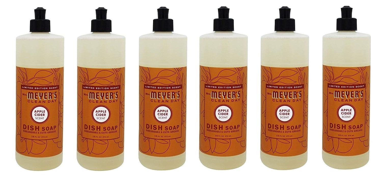 Mrs. Meyer's Clean Day Dish Soap, Apple Cider, 16 Fluid Ounce SC Johnson 170986