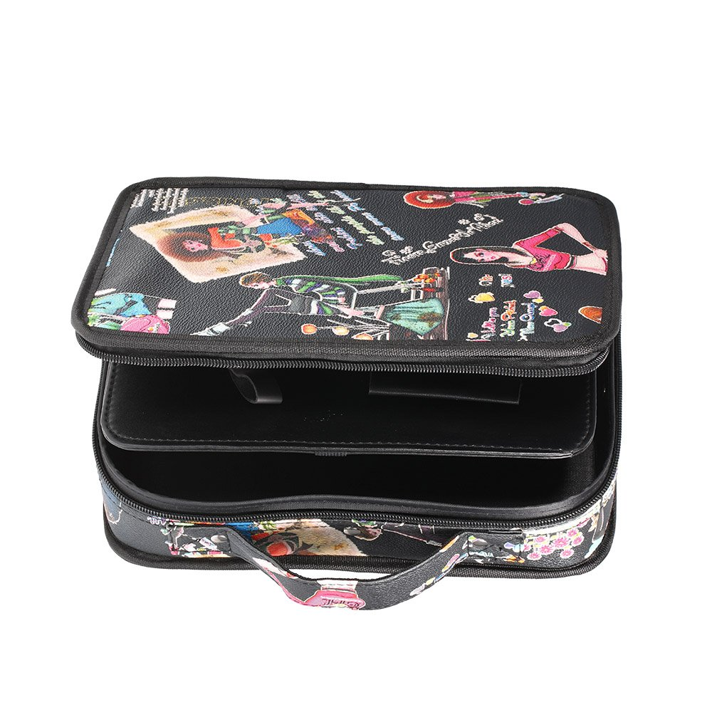 Anself Barber Scissor Case Salon Hairdressing Bag Hair Cutting Bag W4099-HMMFBA