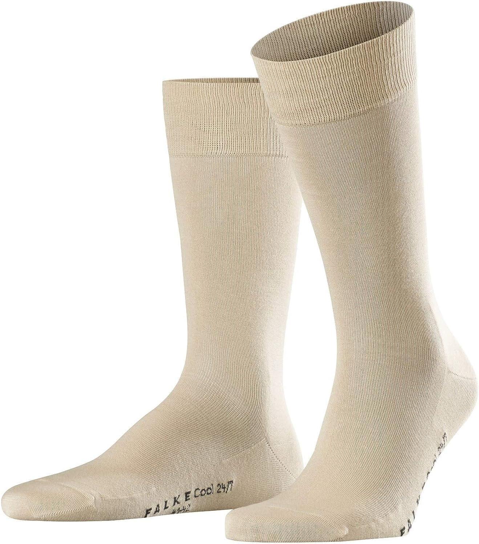 White 2000 39//40 EU Homme Blanc Blanc FALKE Cool 24//7 Chaussettes Doublure