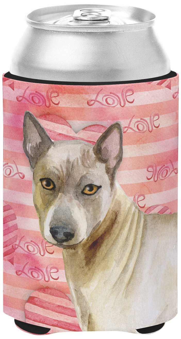 Caroline's Treasures BB9767CC Thai Ridgeback Love Decorative Can Hugger, Multicolor