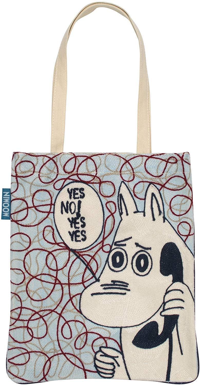 Marushin Moomin Tote Bag Call Chain Stitch Embroidery 0434104400