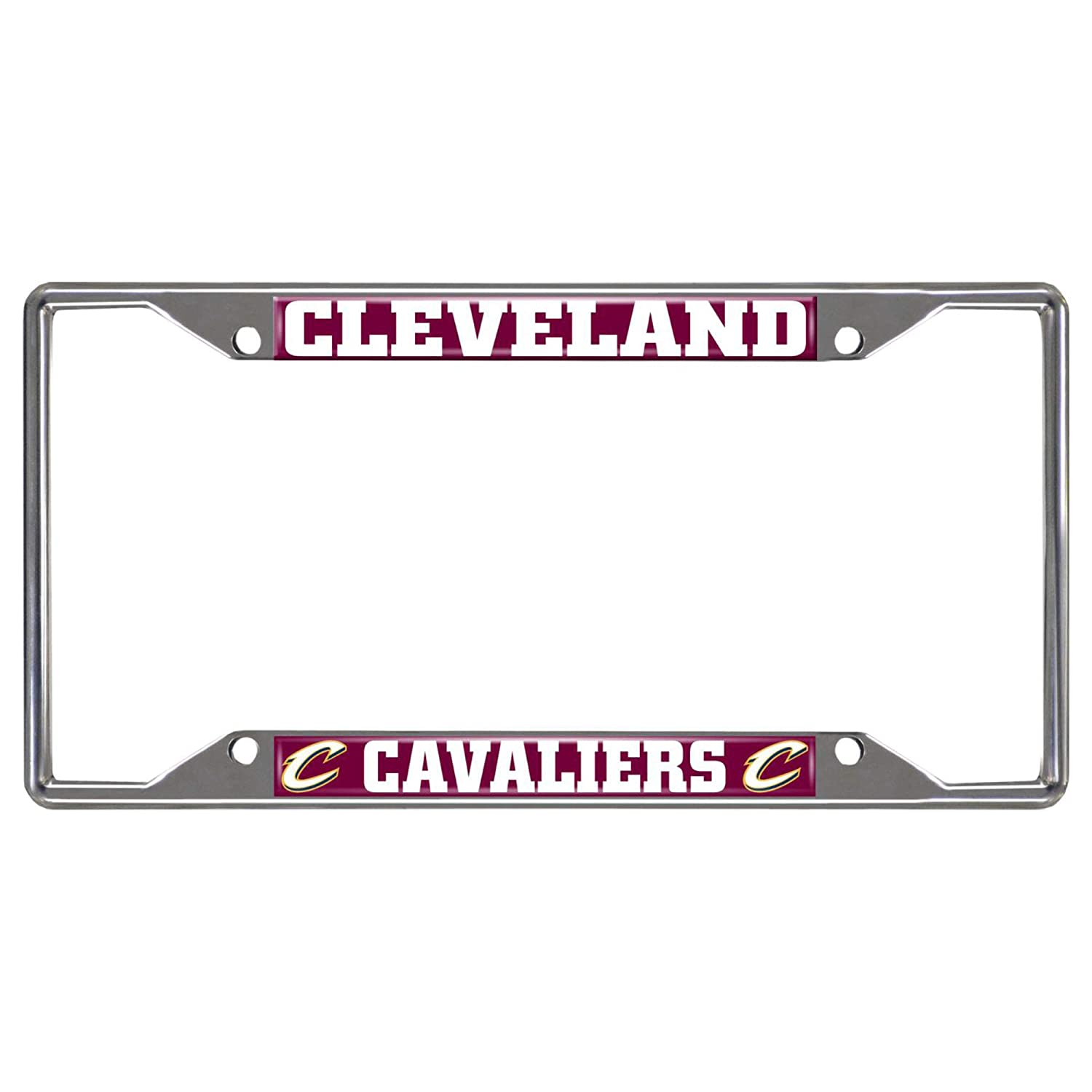 Black 6.25 x 12.25//Small NBA Cleveland Cavaliers License Plate Frame