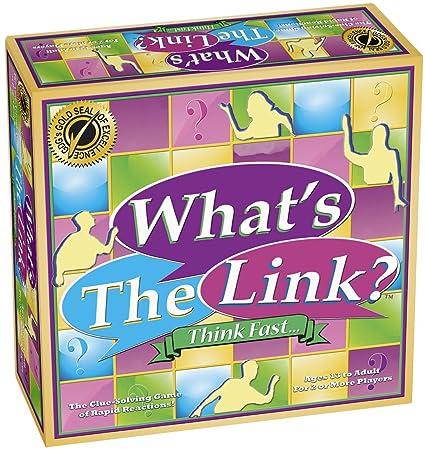 Amazon.com: ¿Cuál es la Link? Juego de mesa: Toys & Games