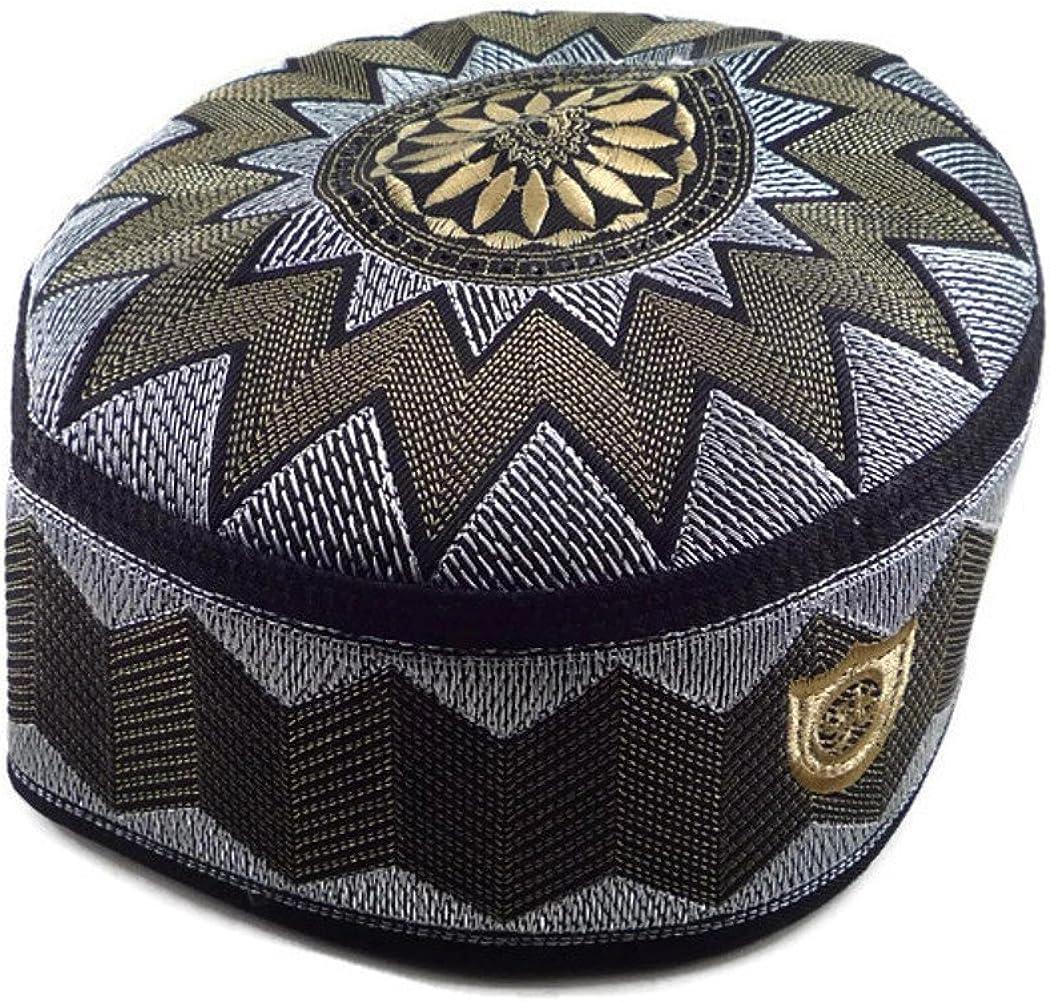 11 Muslim Hat Islamic Headware Skull Cap Ramadan Eid Gift Kufi Prayer TM