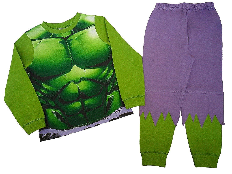 Marvel Character Ragazzi Avengers novità The Incredible Hulk pigiama per bambini da 2a 8anni