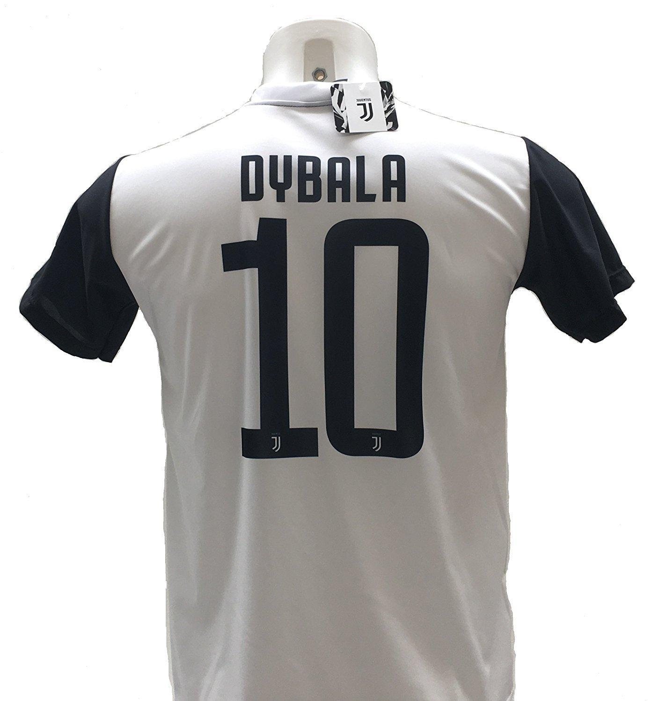 Camiseta de Fútbol PAULO DYBALA 10 Juventus NUEVA Temporada 2017-2018  Replica OFICIAL con LICENCIA dfb9648a76dc5