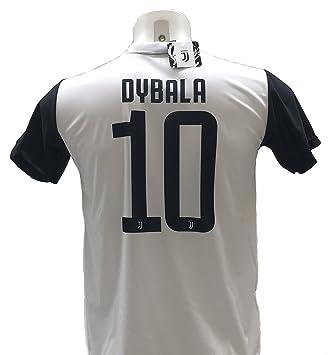Camiseta de Fútbol PAULO DYBALA 10 Juventus NUEVA Temporada 2017-2018 Replica OFICIAL con LICENCIA - Todos Los Tamaños NIÑO y ADULTO
