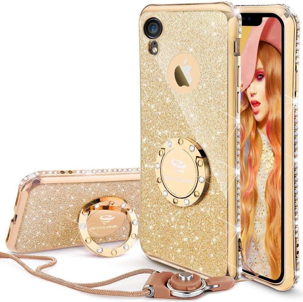 Ocyclone Iphone Xr Hülle Glitzer Diamant Handyhülle Elektronik