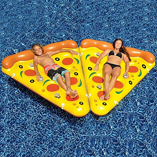 Amazon.com: Goolsky Inflatable Pizza Pool Raft Summer Swimming Lounge Float Pool Party Toys for Adults and Kids: Toys & Games