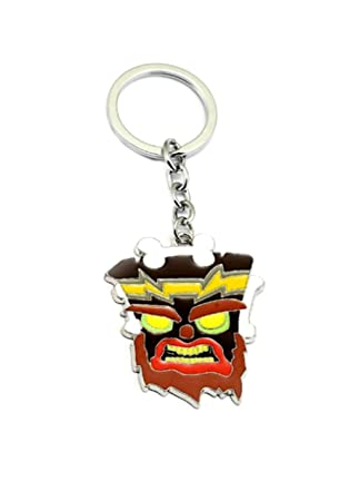 Amazon.com: Crash Bandicoot llavero juego de juegos de auto ...