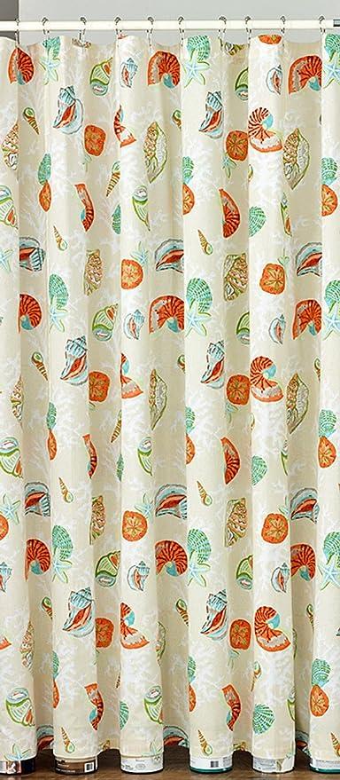Kensington Row Coastal Collection Shower Curtains