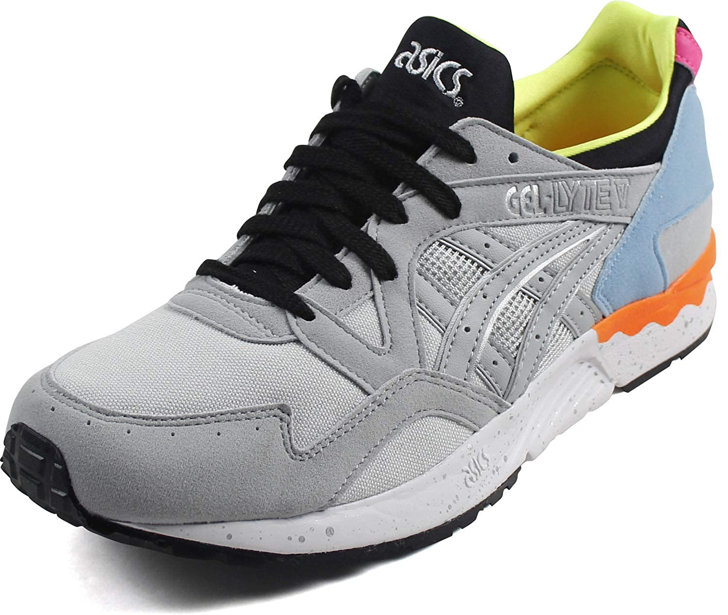 reputable site b2cab b9a1f Amazon.com | ASICS Tiger Men's Gel-Lyte V Sneakers, Mid Grey ...
