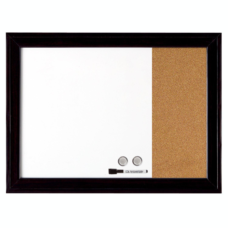 Quartet Combination Magnetic Whiteboard & Corkboard, 17