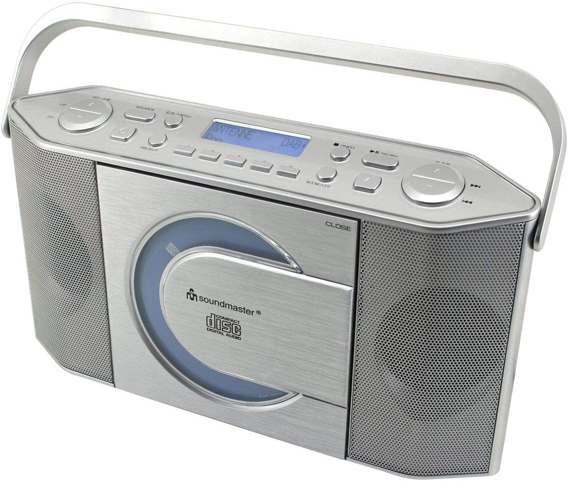 Soundmaster Rcd1770si Dab Ukw Radio Cd Mp3 Spieler Elektronik
