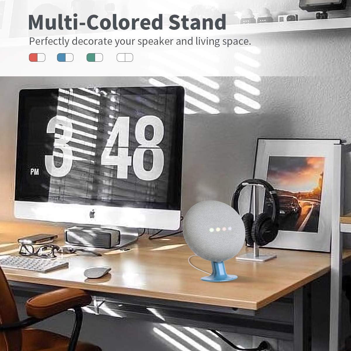 LANMU Standfu/ß f/ür Google Home Mini blau