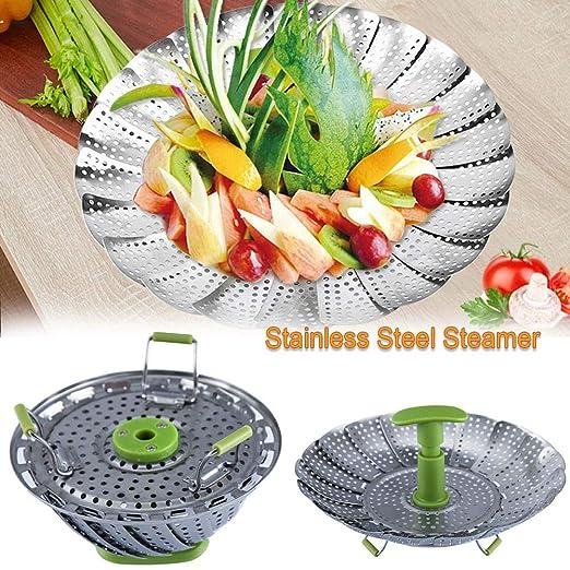 Accesorio de vapor para cestas de verduras de acero inoxidable de ...