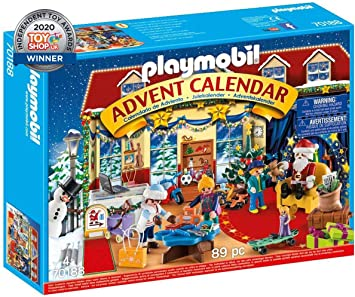 Calendrier Avent Playmobil 2021 Amazon.com: PLAYMOBIL Advent Calendar   Christmas Toy Store: Toys