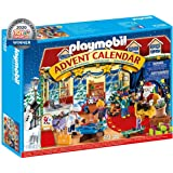 Playmobil 70188 Advent Calendar Christmas Toy Store Playset (89 Pieces)