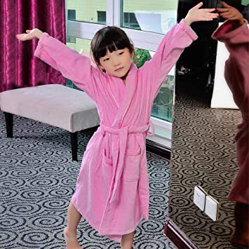 HeiPlaine Lindas Ropas de Noche Batas de baño para niños, Toallas de algodón, niños y niñas, ...
