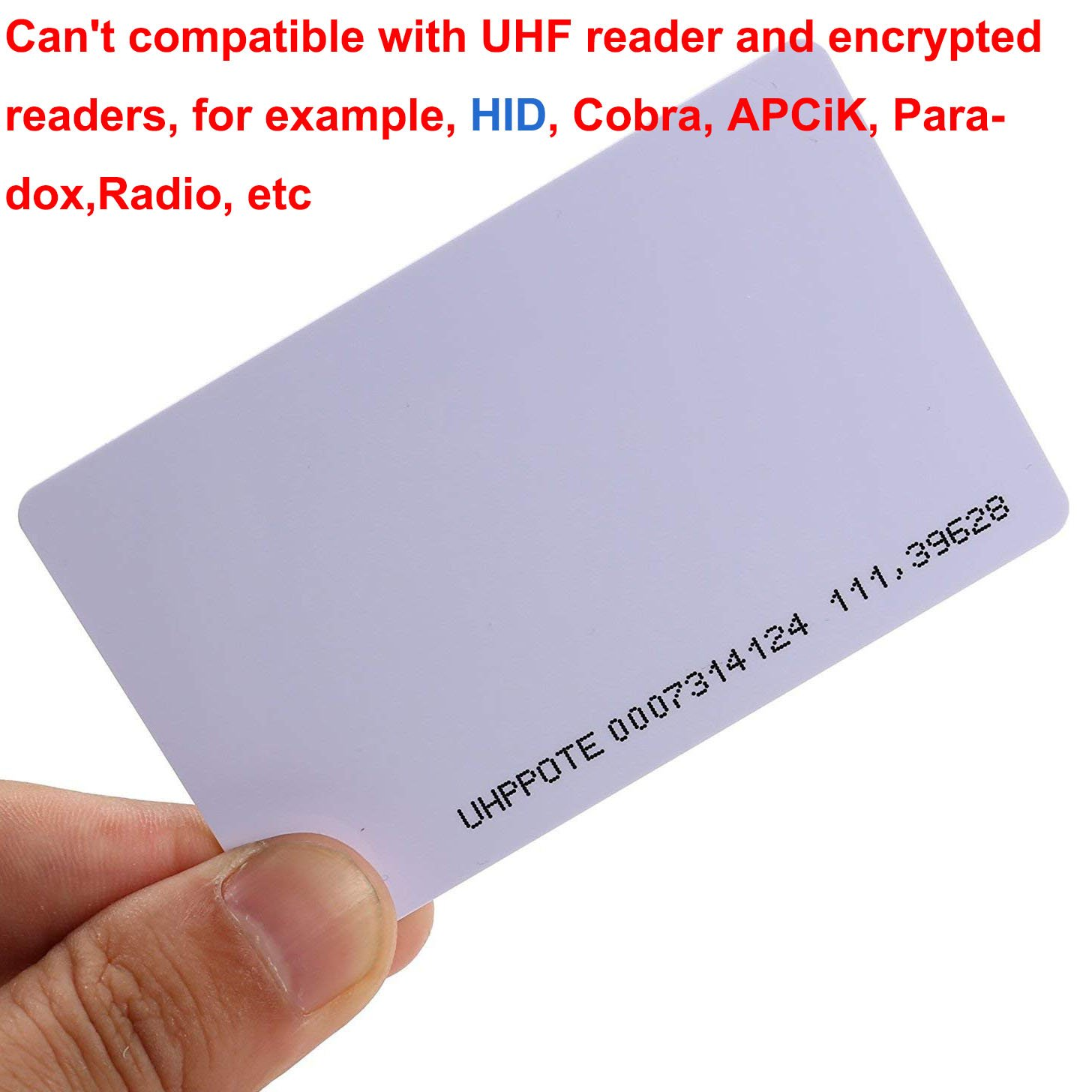 UHPPOTE Sin Contacto 125kHz EM4100 RFID Proximidad ID ...