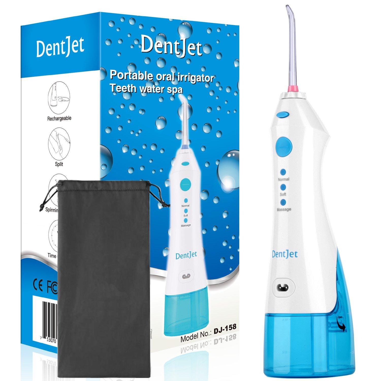 Irrigador Bucal Recargable Irrigador Dental Portátil DentJet Limpiador dental de Agua para