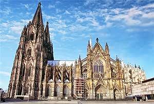 OFILA - Fondo de la Catedral de Colonia Alemana, 7 x 1,5 m