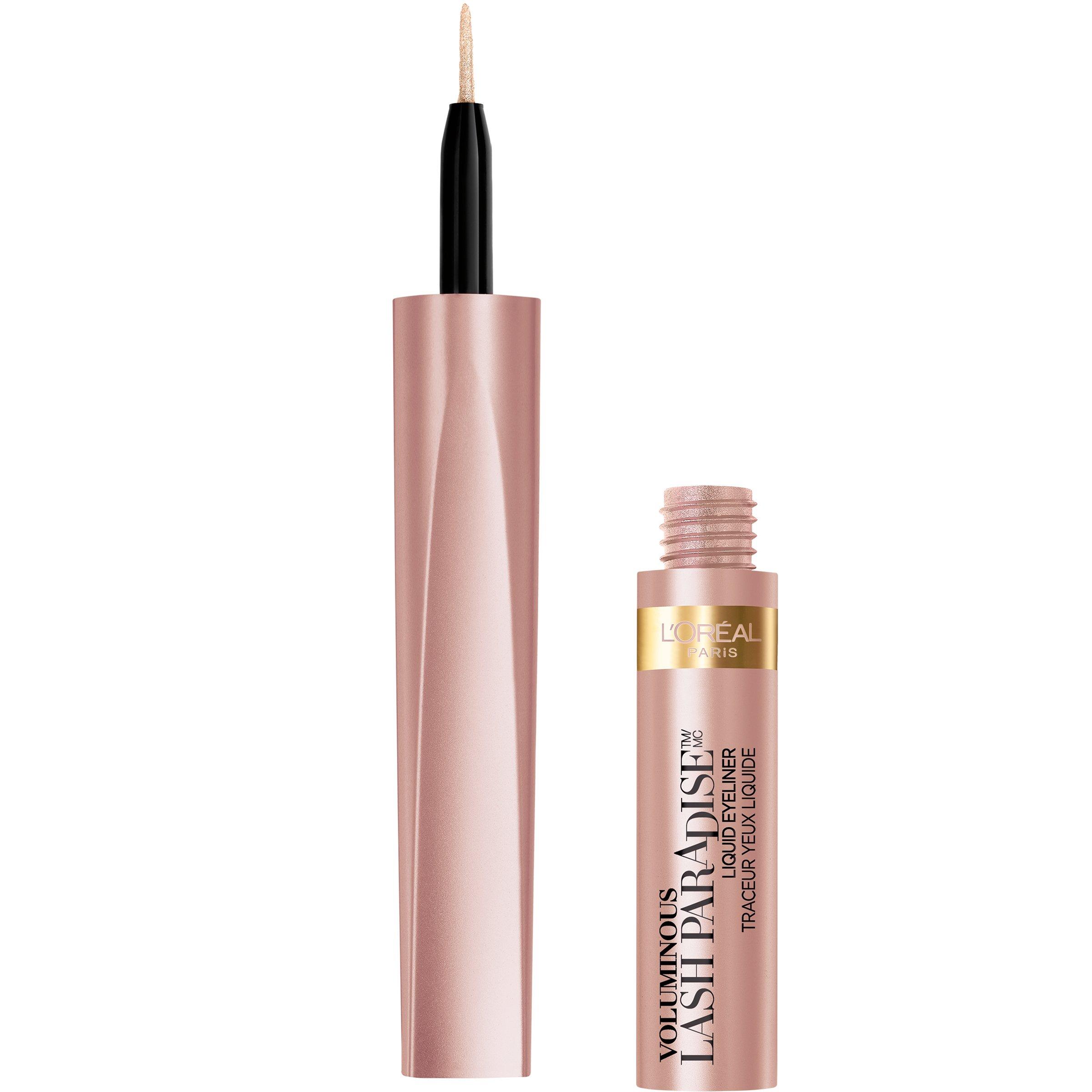 L'Oreal Paris Cosmetics Voluminous Lash Paradise Liquid Eyeliner, Rose Gold, 0.05 Fluid Ounce