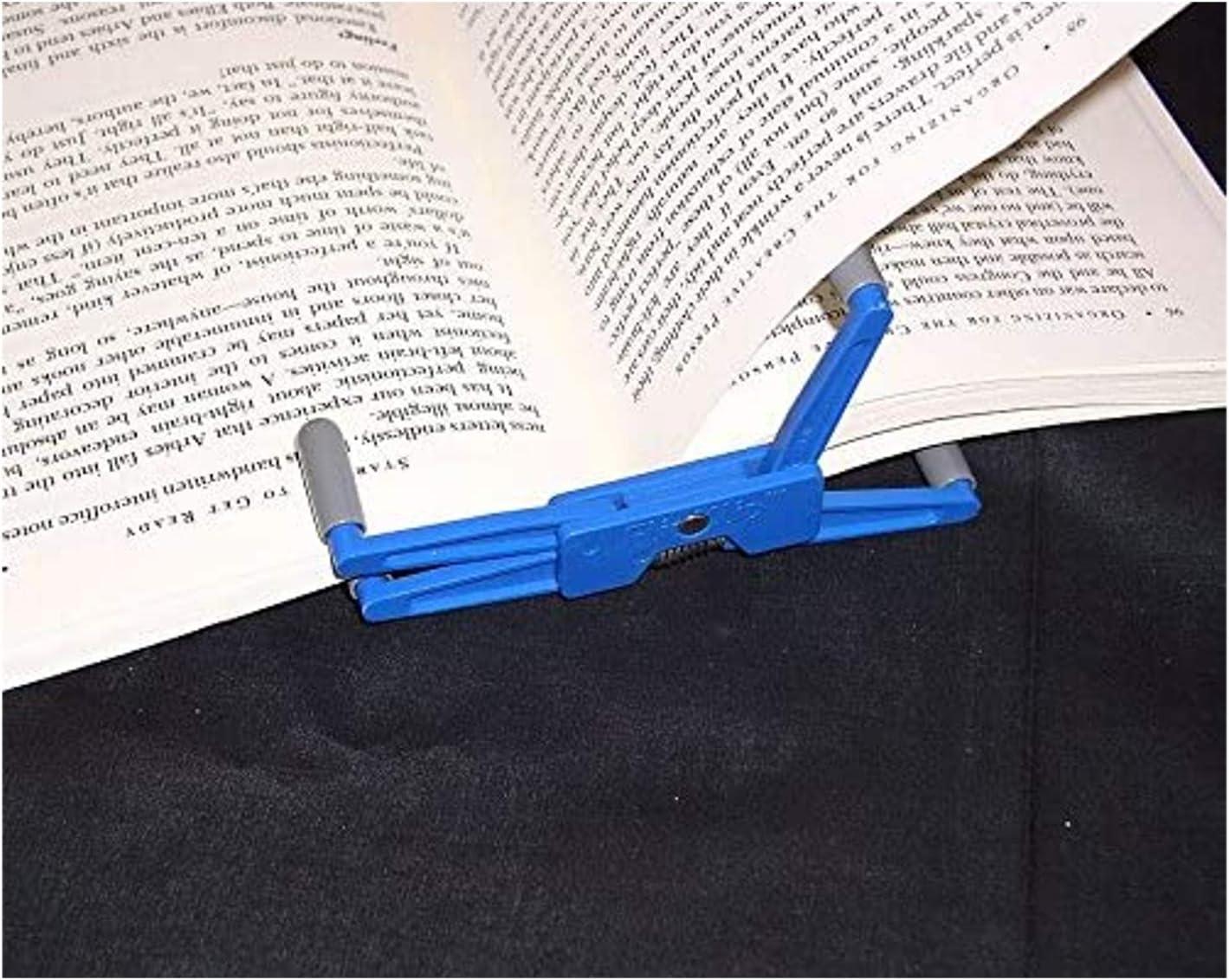 Soporte de libro – FlipKlip ergonómico libro soportes: Amazon.es ...