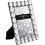 IJI Clear Jewel Picture Frame (4x6, Clear)
