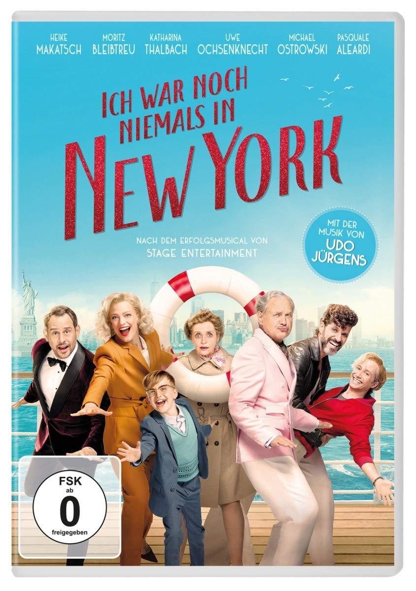 Cover: Ich war noch niemals in New York 1 DVD-Video (circa 124 min)
