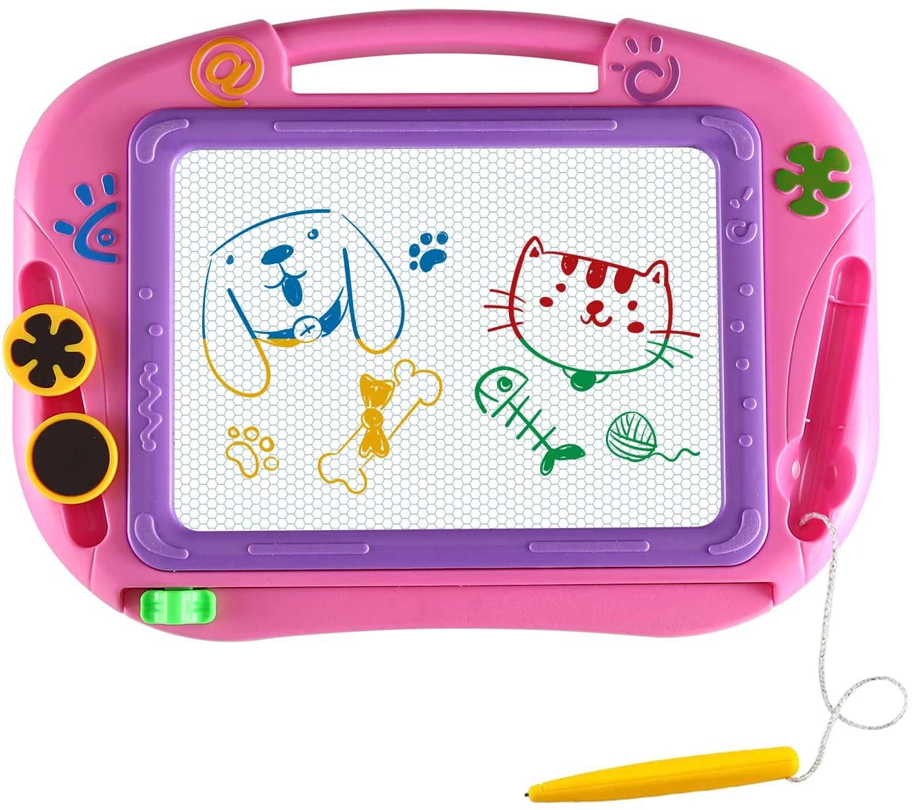 Top 10 Best Magnetic Doodle Drawing Board For Kids (2020 Reviews & Buying Guide) 4