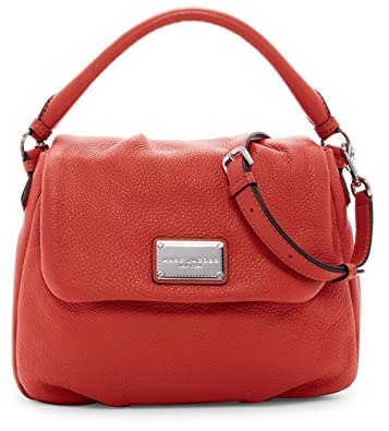 8e88746f0a3 Amazon.com: Marc Jacobs Classic Leather Shoulder Bag (Salmon): Shoes