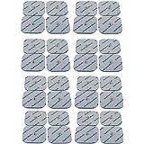 32 TENS elektroder med tryckknapp för Beurer och Sanitas Tens EMS-enheter