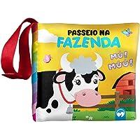 BEBÊ FELIZ - PASSEIO NA FAZENDA: LIVRO DE PANO INFANTIL
