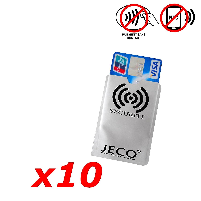 Lote de 10 - Protección Tarjeta de Crédito NFC RFID sin ...