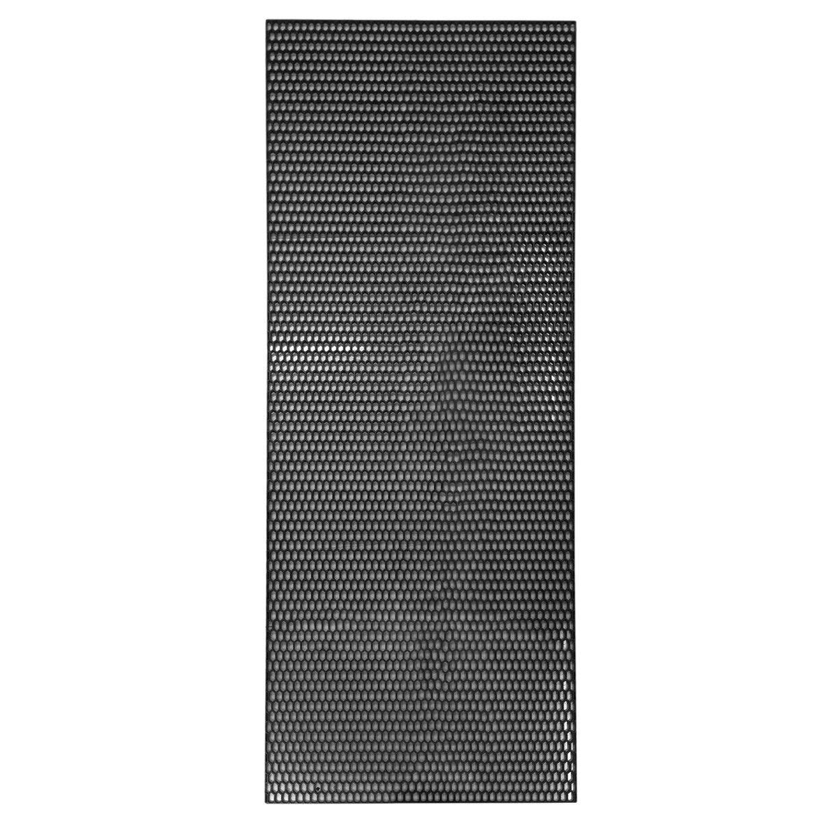 Couvercle de grille de maille pare-chocs avant de voiture en plastique ABS universel durable vé hicule maille grille vé hicule de voiture Black Grille Net DoMoment